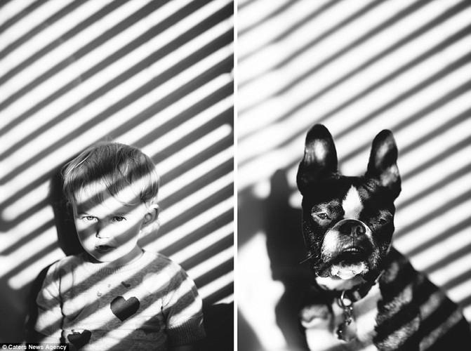 Bạt cuòi xem bé và cún cung có bieu cam giong het nhau-Hinh-9
