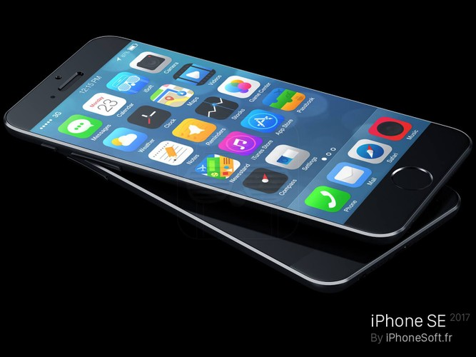 Can canh ve dep don tim cua concept iPhone SE 2017-Hinh-2