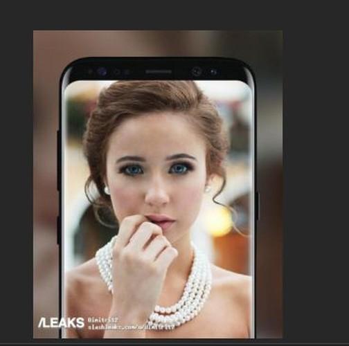 Lo anh tuyet dep cua Galaxy S8 va S8 Plus truoc