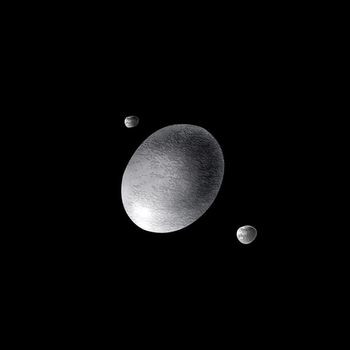 Nhung kham pha moi ve hanh tinh lun Haumea