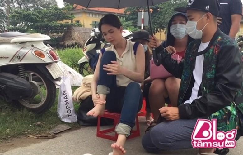 Nang may cung chao thua cach bao ve da ba dao cua Ngoc Trinh-Hinh-4
