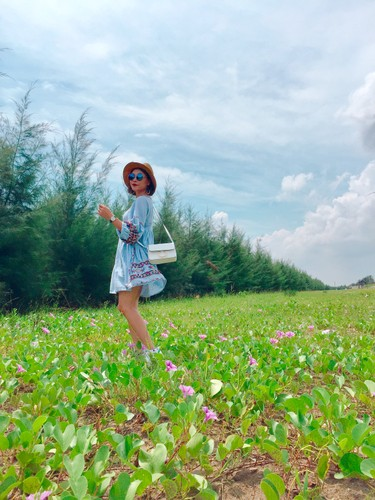 Khong ngo que lua Thai Binh lai co bo bien dep den vay!-Hinh-16