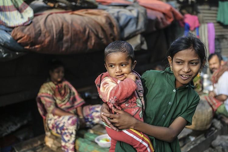 Anh doc: Xot xa nhung kiep song ngheo o Bangladesh-Hinh-6