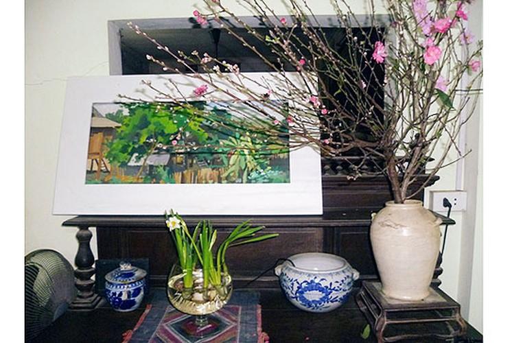Muon kieu trang tri nha dep voi hoa dao don Tet-Hinh-3