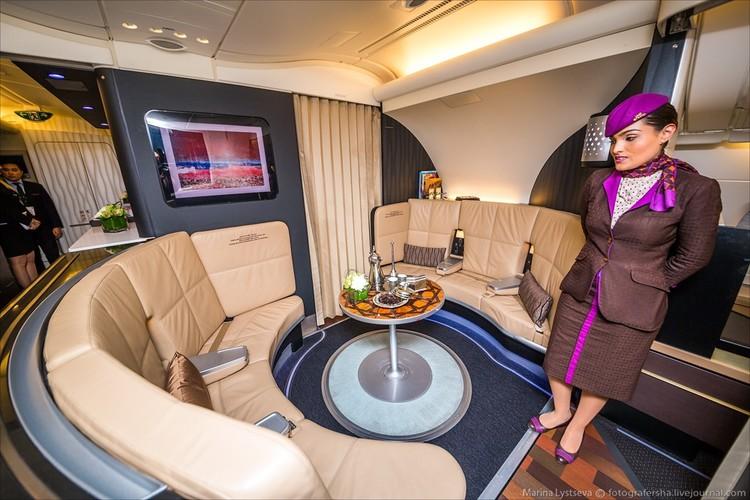 Ben trong may bay sang trong nhat the gioi Airbus A380-Hinh-10