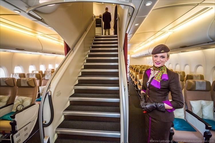 Ben trong may bay sang trong nhat the gioi Airbus A380-Hinh-2