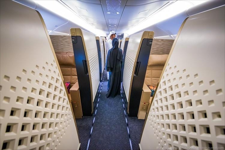 Ben trong may bay sang trong nhat the gioi Airbus A380-Hinh-3