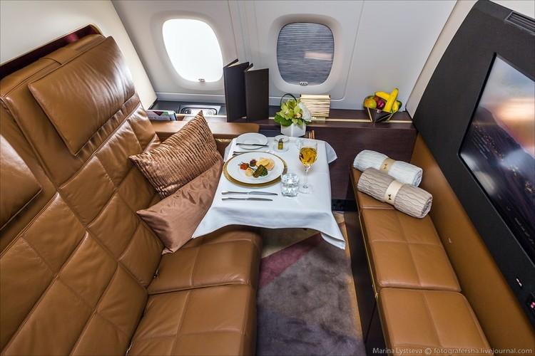 Ben trong may bay sang trong nhat the gioi Airbus A380-Hinh-4