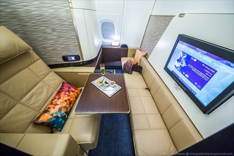 Ben trong may bay sang trong nhat the gioi Airbus A380-Hinh-6