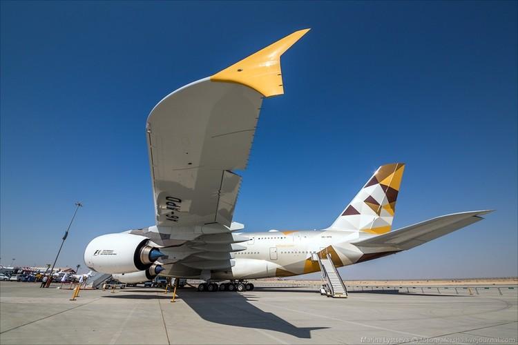 Ben trong may bay sang trong nhat the gioi Airbus A380