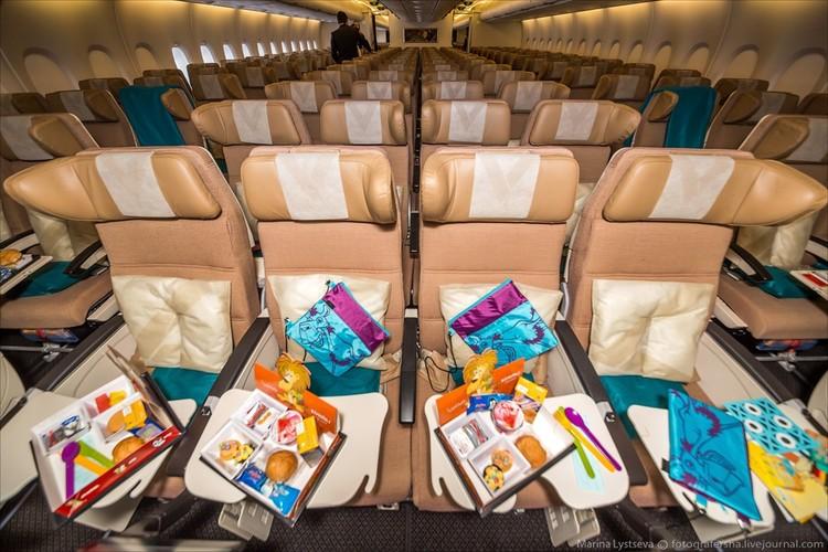 Ben trong may bay sang trong nhat the gioi Airbus A380-Hinh-12
