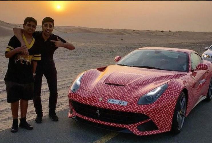 Phat soc voi cuoc song xa hoa cua thieu gia Dubai 15 tuoi-Hinh-9