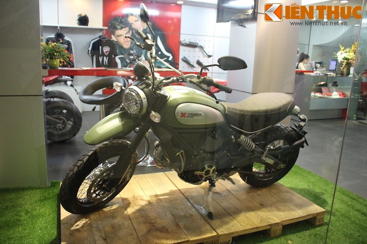 """Chien binh"" Ducati Scrambler Urban Enduro tai Ha Noi-Hinh-2"