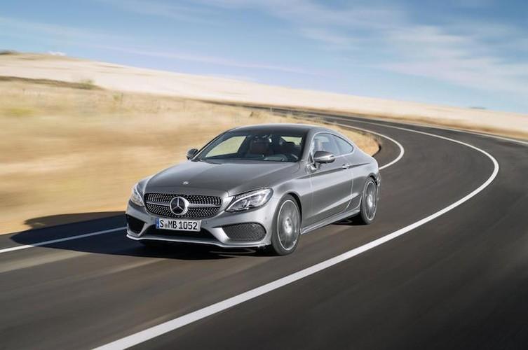 "Mercedes ra mat phien ban C-Class coupe ""sang chanh""-Hinh-10"