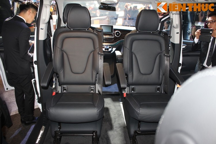 Ngam xe VAN Mercedes V220 CDI gia 2,5 ty tai Ha Noi-Hinh-13