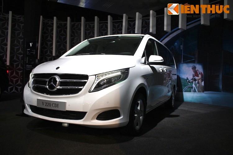 Ngam xe VAN Mercedes V220 CDI gia 2,5 ty tai Ha Noi-Hinh-15