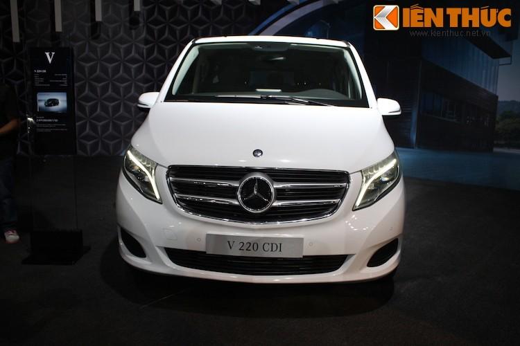 Ngam xe VAN Mercedes V220 CDI gia 2,5 ty tai Ha Noi-Hinh-2