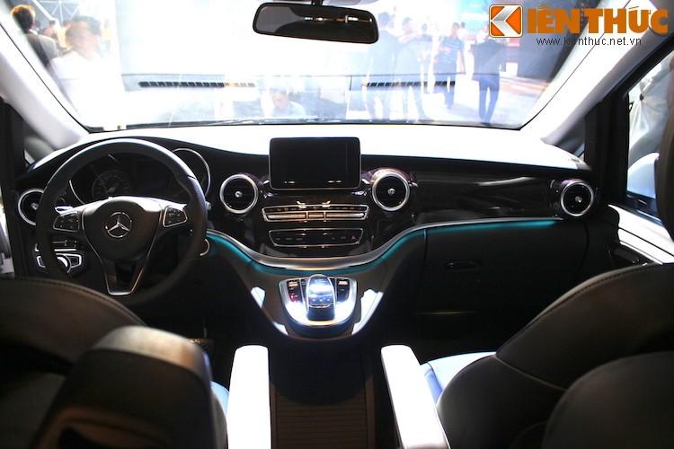 Ngam xe VAN Mercedes V220 CDI gia 2,5 ty tai Ha Noi-Hinh-7