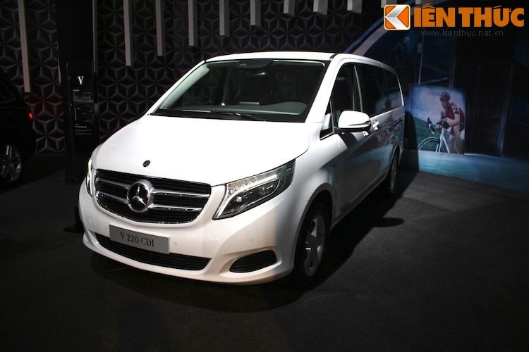 Ngam xe VAN Mercedes V220 CDI gia 2,5 ty tai Ha Noi