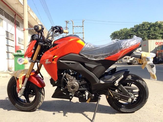 "Kawasaki Z125 ""do bo"" Viet Nam canh tranh Honda MSX-Hinh-3"