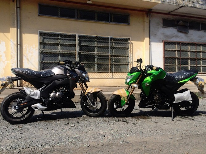 "Kawasaki Z125 ""do bo"" Viet Nam canh tranh Honda MSX-Hinh-4"