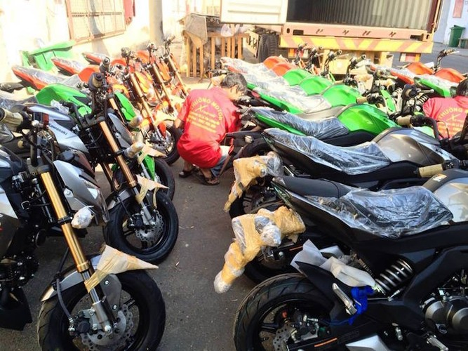 "Kawasaki Z125 ""do bo"" Viet Nam canh tranh Honda MSX-Hinh-6"