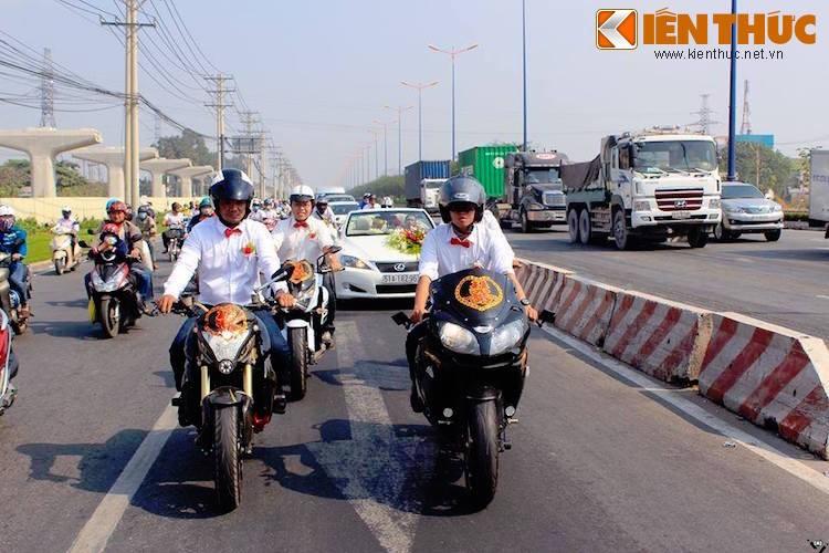 Hang chuc moto PKL tai Sai Gon ram ro