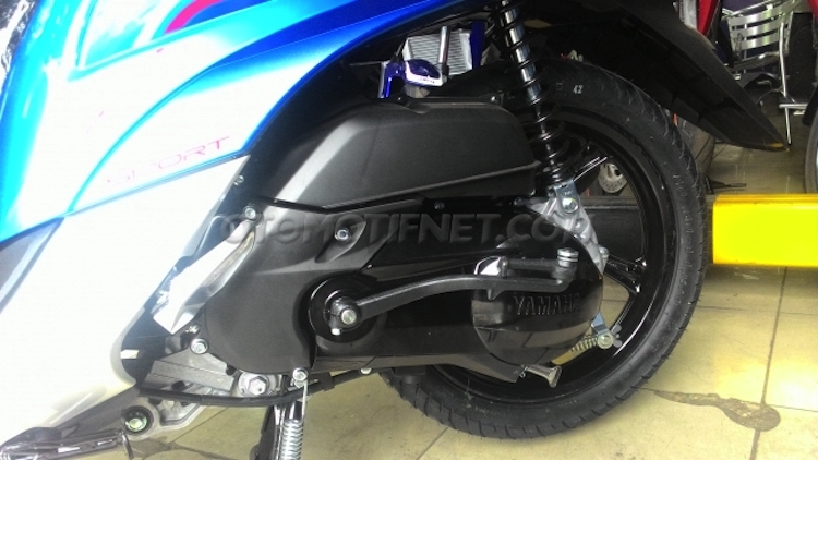 Yamaha ra mat xe tay ga Fino Blue Core gia 25 trieu-Hinh-9