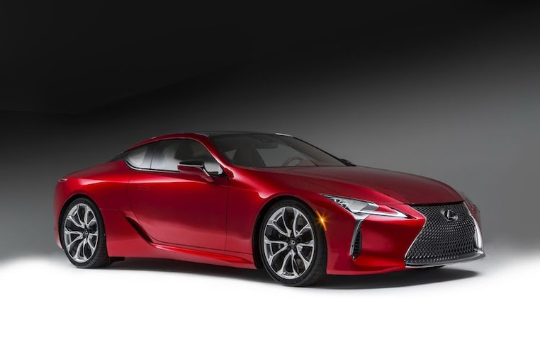 Can canh coupe hang sang Lexus LC500 phien ban 2016-Hinh-2