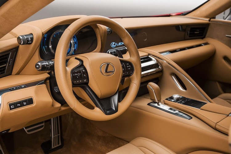 Can canh coupe hang sang Lexus LC500 phien ban 2016-Hinh-5