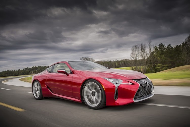 Can canh coupe hang sang Lexus LC500 phien ban 2016-Hinh-9