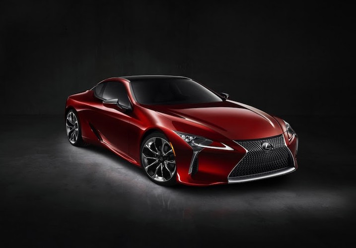 Can canh coupe hang sang Lexus LC500 phien ban 2016