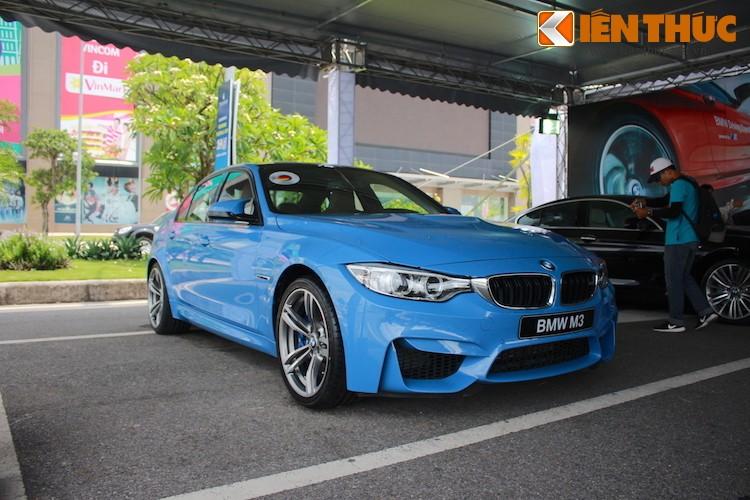 Sieu sedan BMW M3 mau Yas Marina Blue