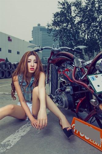 """Moto Harley-Davidson khung do dang """"chan dai den nach""""-Hinh-9"""
