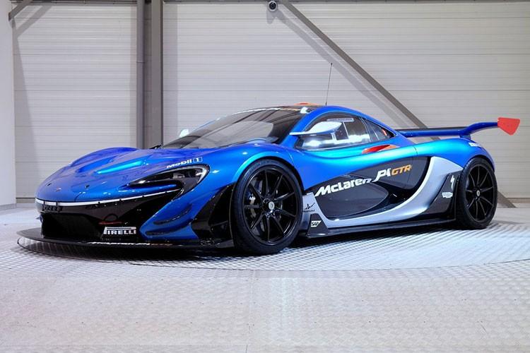 Sieu xe McLaren P1 GTR