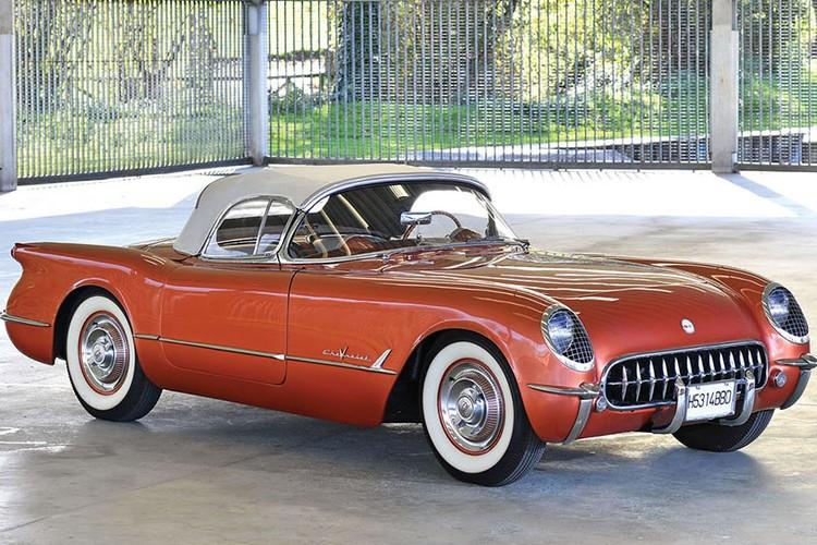 Ngam xe co Chevrolet Corvette Roadster 1953 cuc hiem