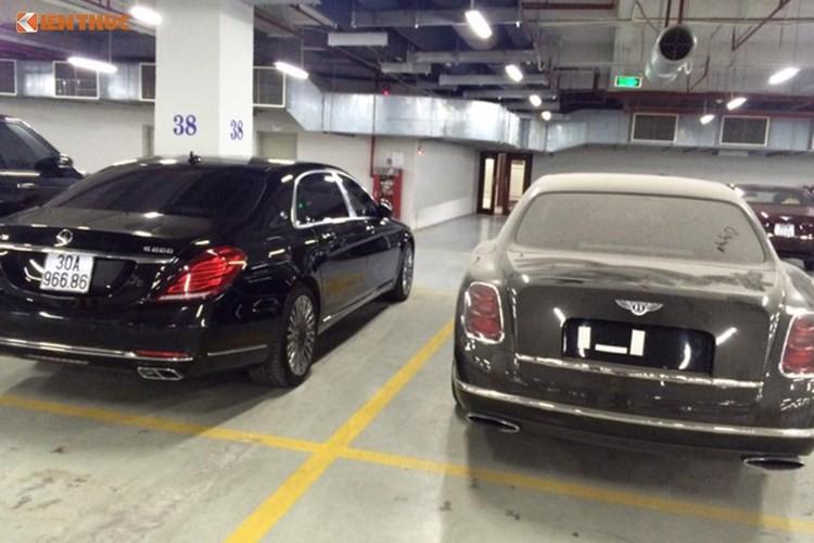 Nhung xe sieu sang Bentley tien ty