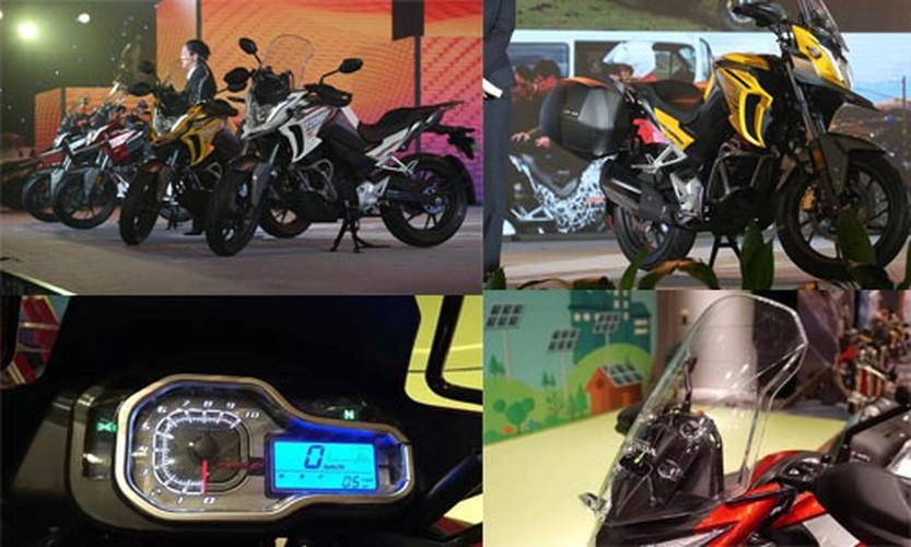 """Moto """"phuot"""" Honda CB190X chinh thuc ra mat-Hinh-8"""