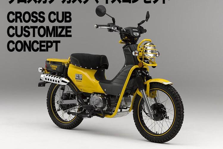 Can canh Honda Cross Cub 110cc 2018 gia 13,5 trieu