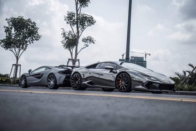 "Bao Tay ""choang"" voi McLaren va Lamborghini do khung tai VN"