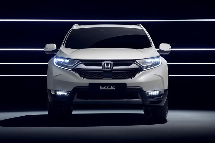 "Honda ""nha hang"" xe oto CR-V hybrid phien ban 2018-Hinh-6"
