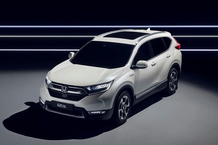 "Honda ""nha hang"" xe oto CR-V hybrid phien ban 2018-Hinh-7"