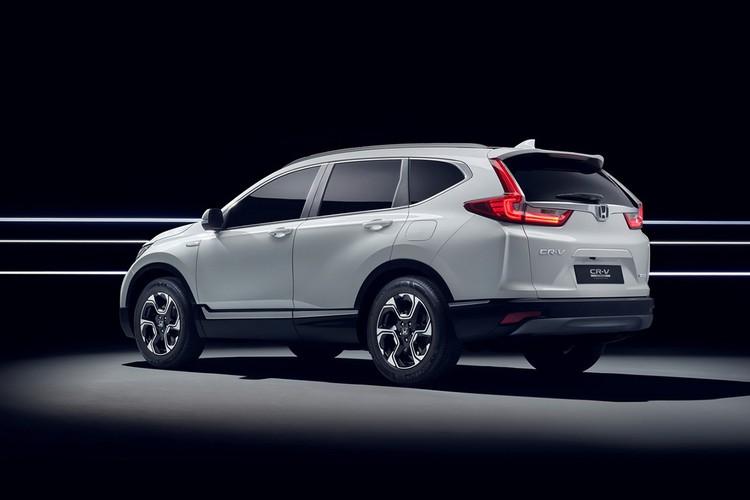 "Honda ""nha hang"" xe oto CR-V hybrid phien ban 2018-Hinh-8"