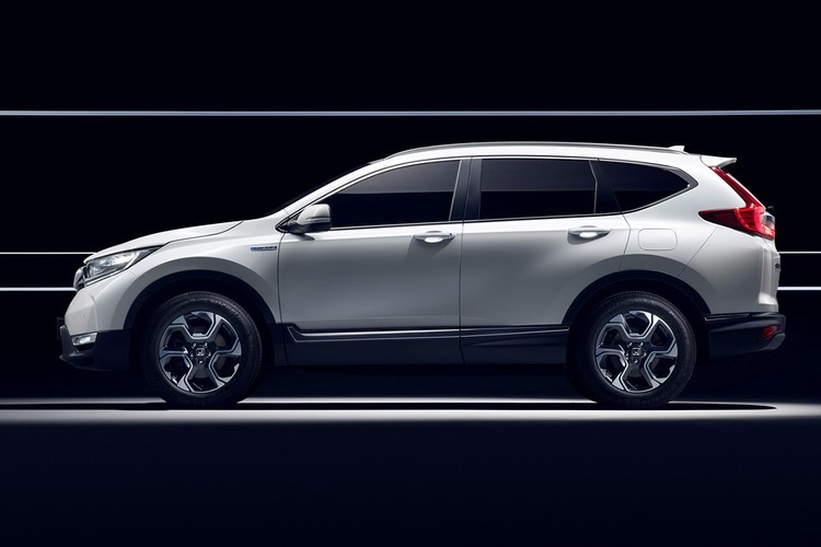 "Honda ""nha hang"" xe oto CR-V hybrid phien ban 2018-Hinh-9"