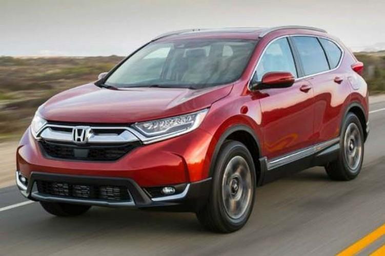 """Honda """"nha hang"""" xe oto CR-V hybrid phien ban 2018"""