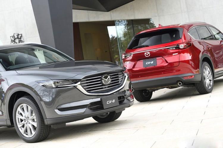 """Mazda chinh thuc ra mat CX-8, """"chot gia"""" 620 trieu dong"""