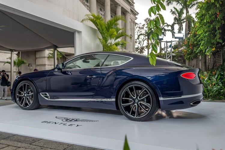 Sieu xe sang Bentley Continental GT 2018 ra mat Dong Nam A-Hinh-3