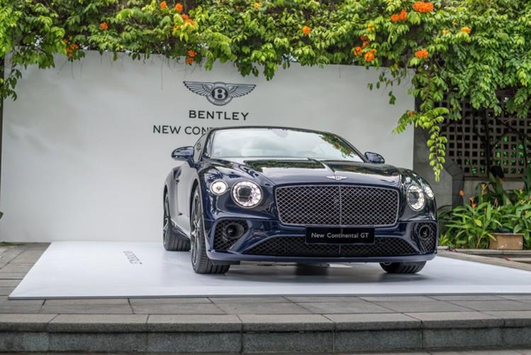 Sieu xe sang Bentley Continental GT 2018 ra mat Dong Nam A-Hinh-4