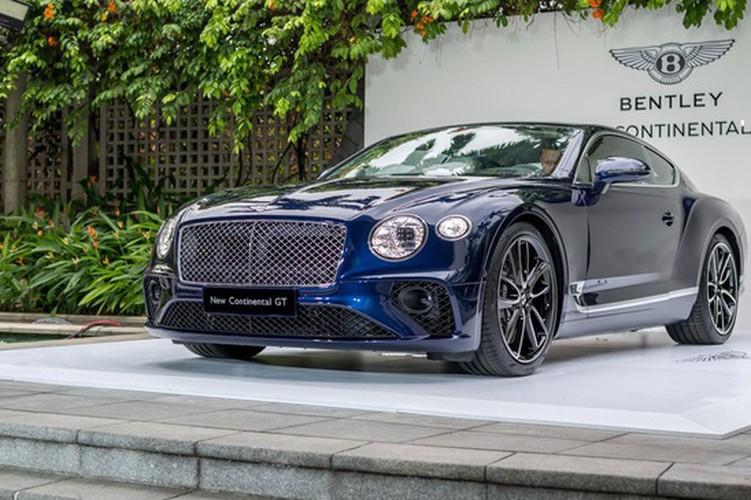 Sieu xe sang Bentley Continental GT 2018 ra mat Dong Nam A