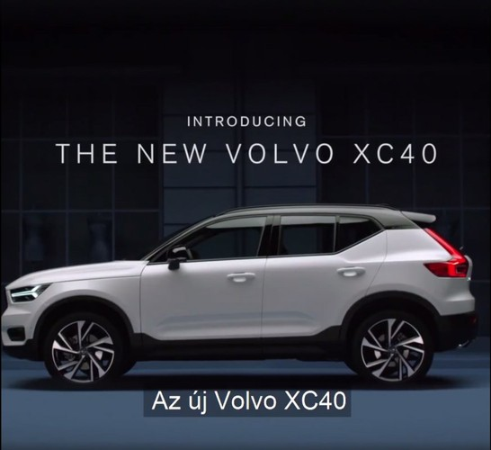 "Volvo XC40 2018 lo ""anh nong"" truoc ngay ra mat"